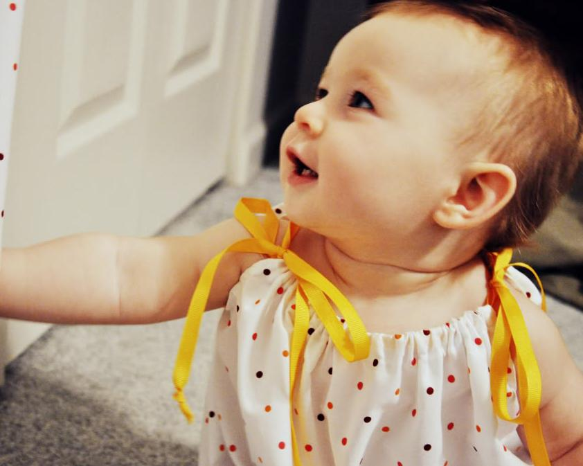 Infant Dresses: Convert a Pillowcase into a Lovely Baby Dress