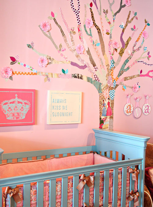 So How Does Your Tree Look It Will Definitely Make Babys Nursery Room Stand Out Let Imagination Flow And Decoupage Grow I Think