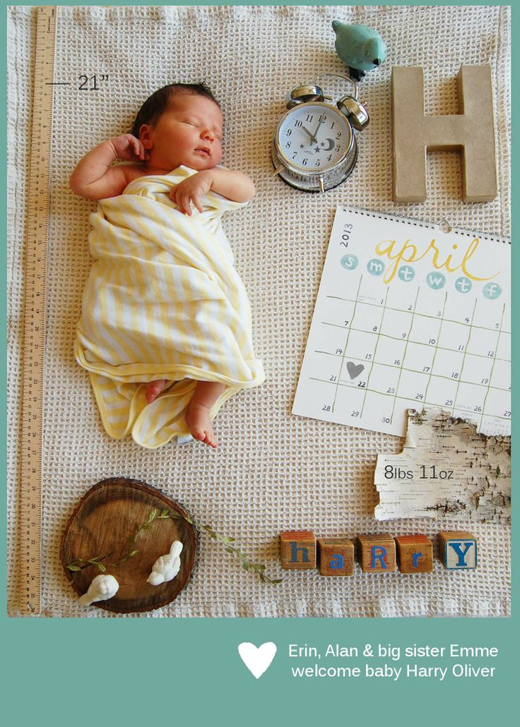 Ideas Youd LOVE Birth Announcements Pregnancy News Gender Reveals – Photo Birth Announcement