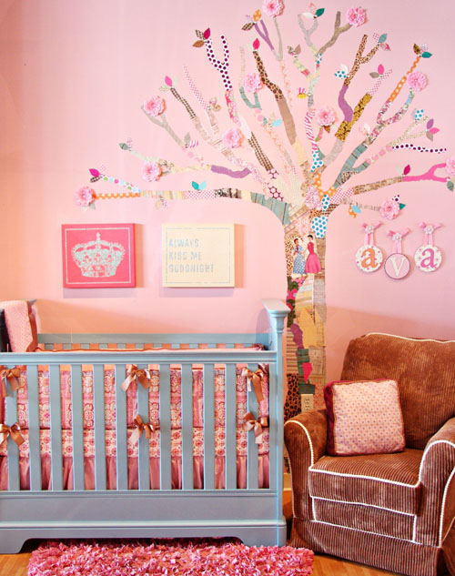 Nursery Room Diy Create Your Own Decoupage Tree