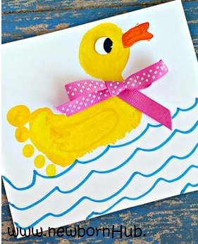 footprint craft ideas diy create amazing baby stuff at home 2043