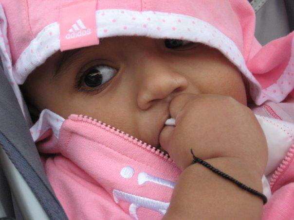 My daughter Noya