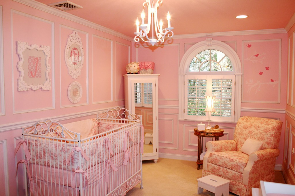 1. Play Safe. Go With The Flow: A Pink Nursery For A Baby Girl ...